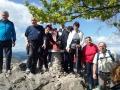 Člani planinske sekcije SKPD Sveti Sava na enem od številnih pohodov