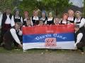 F olklora veteranske skupine SKPD Sveti Sava po nastopu v Avstriji