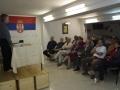 ogled kulturne prireditve dramske sekcije v prostorih kulturnega centra SKPD Sveti Sava