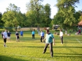 Ćlani športne sekcije SKPD Sveti Sava na turnirju odbojke